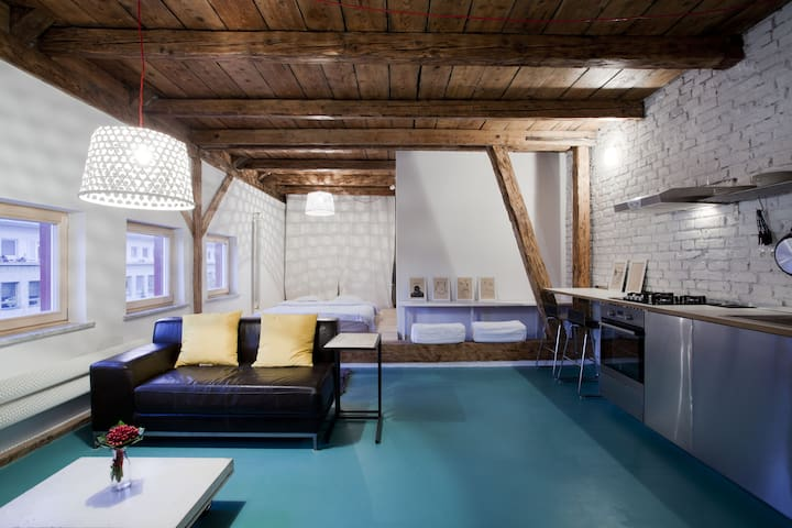 Awesome studio in old town - Bratislava - Appartement