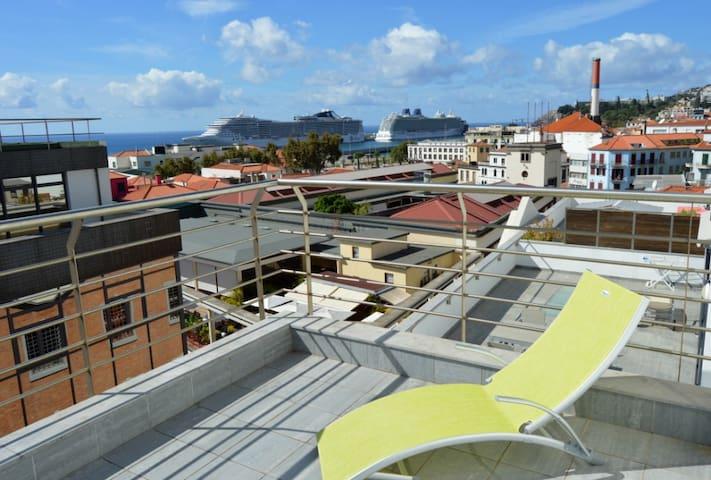 Top Floor Funchal City Center Farmers Market