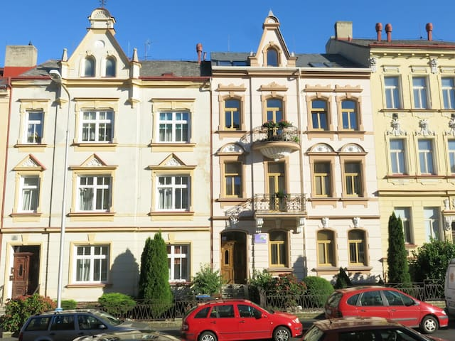 Luxury apartment Hortensia Teplice near center - Teplice - Pis