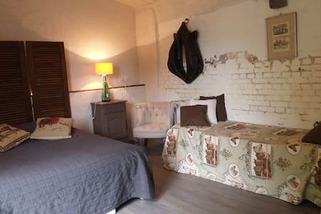 Chambre au Jardin - Bellou - Bed & Breakfast