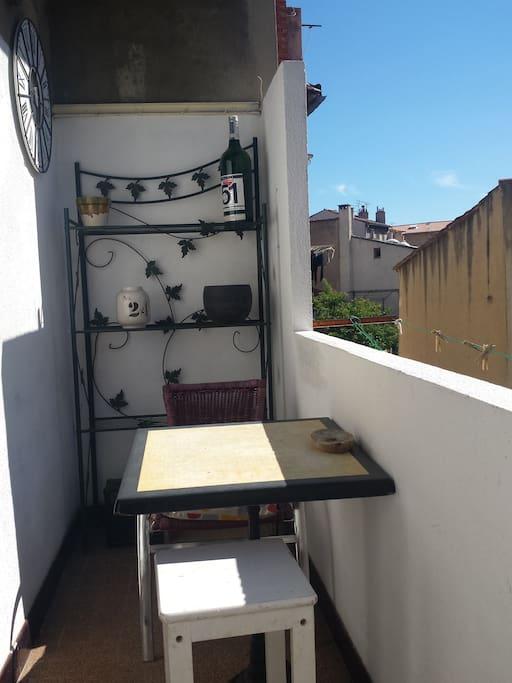 balcon apero/repas