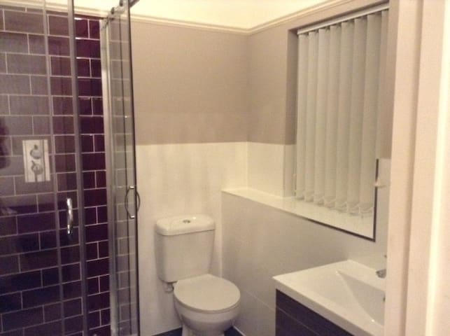 Double room with private bathroom - Colchester - Pis