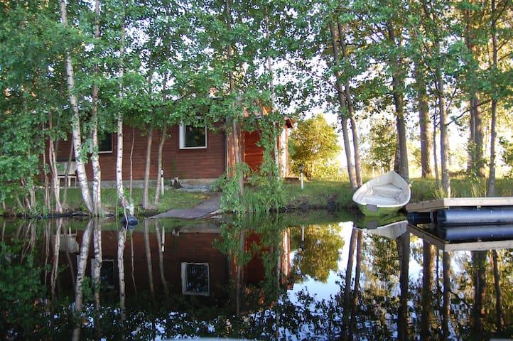Коттедж на берегу озера - Savonlinna - Rumah