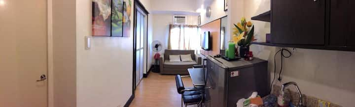 Spacious 1BR Unit at Cordova Tower Marikina City