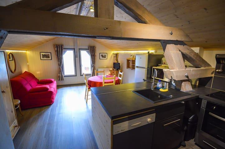 Le Sous-toit - 4 pers. proche Courchevel