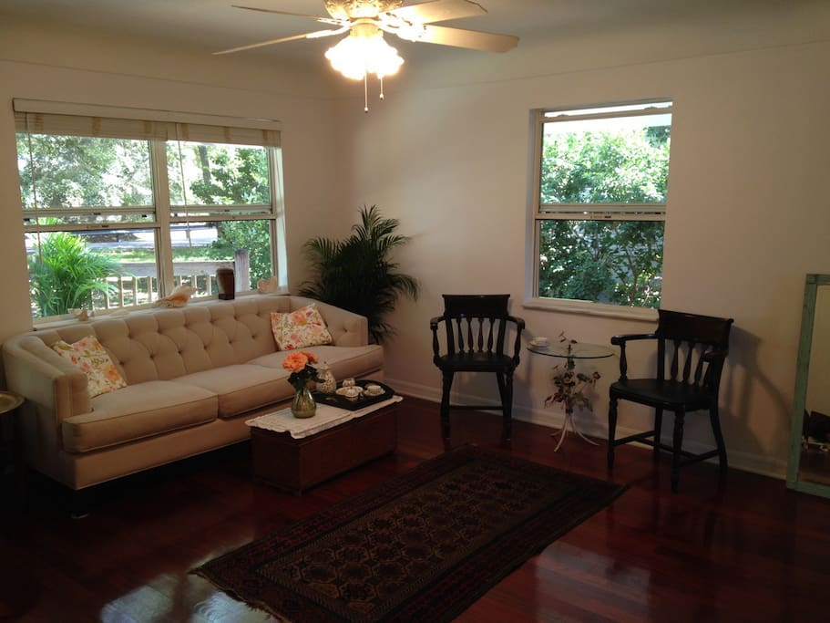living room dunedin fl cozy cottage downtown dunedin friendly houses 15762