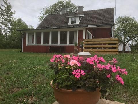 Ægte hus på landet