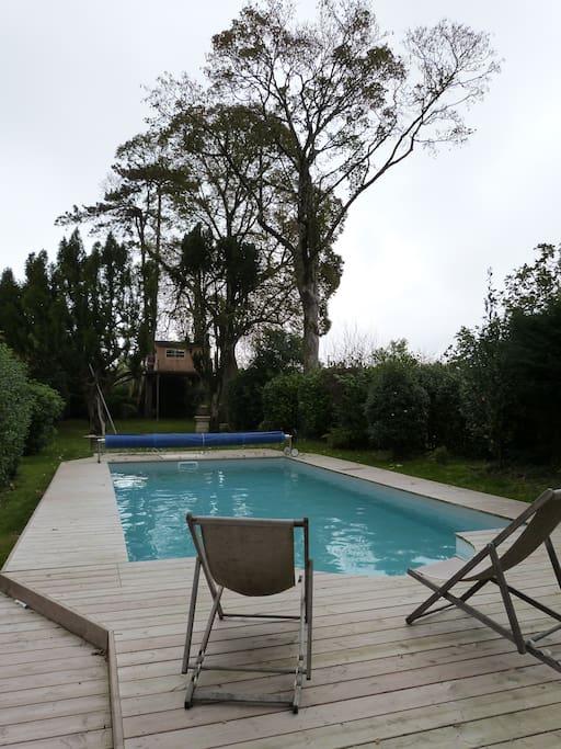 la piscine 8X4M