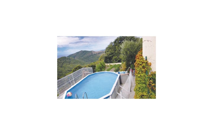 Nice home in Coggia with Outdoor swimming pool and 2 Bedrooms
