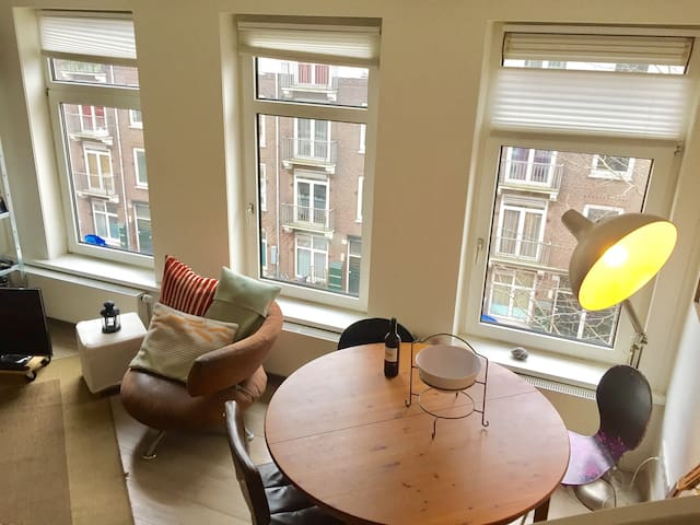 Beautiful and spacious apartment near Westerpark.