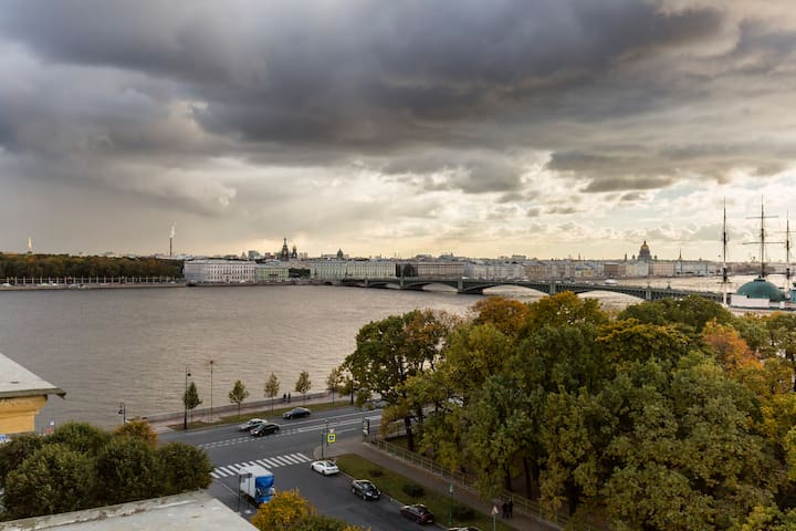 The Neva River View Room