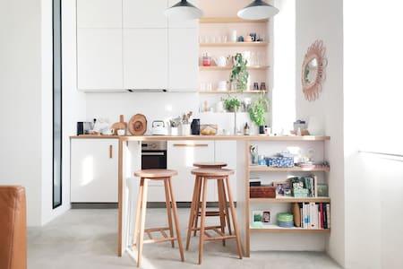 Cosy | Sunny | Quiet | Central - Marseille - Apartment