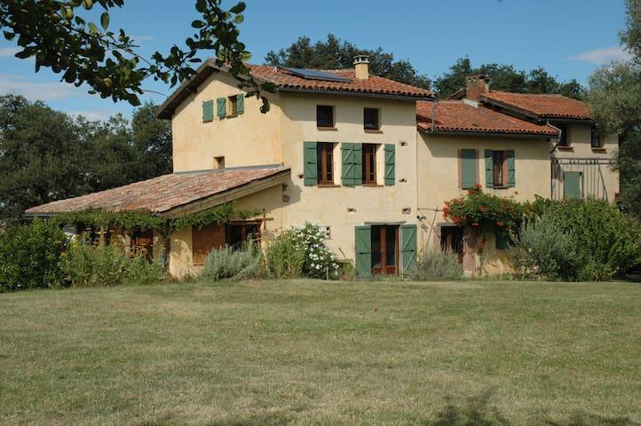 Chaumarty Ecogîte - 9 PERSONNES - Gaillac-Toulza - Gaillac-Toulza - House