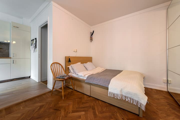 Comfy & quiet flat in central SoFo