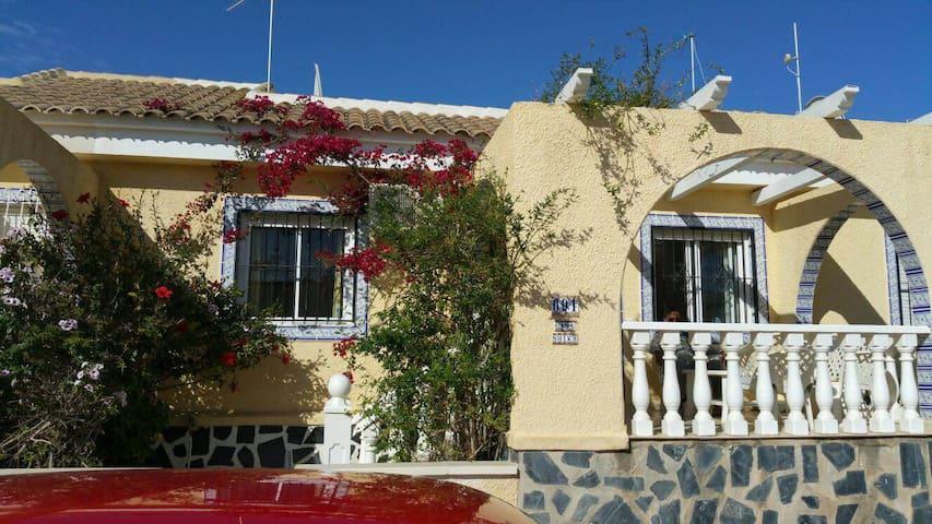 Sunny Casa near Mazarron - Mazarrón - House