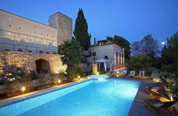 Villa Dojmi on island Vis, Croatia