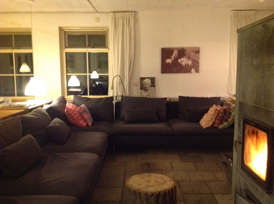 Theetuin stadsland b b 5 rooms bed breakfasts for rent for Living room zwolle