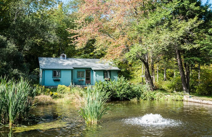 Cozy Cottage by the pond - Redding - Rumah