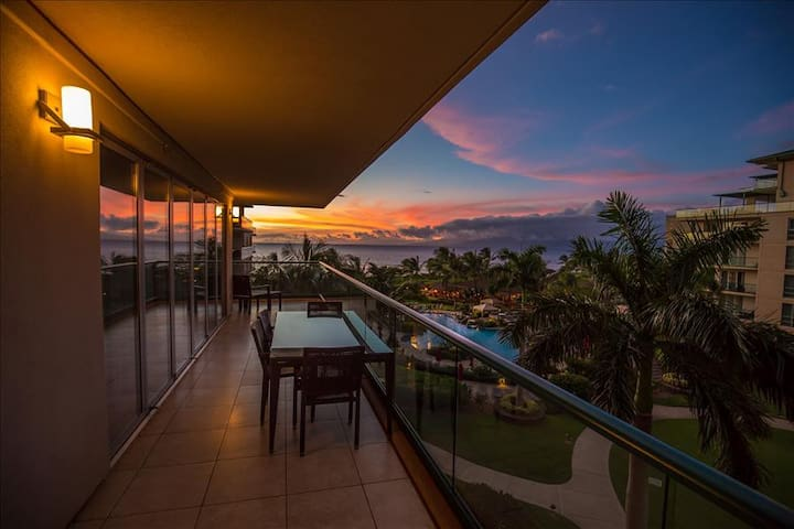 Maui Westside Properties: Hokulani 409 - Wrap around Lanai! - Kaanapali - Appartement