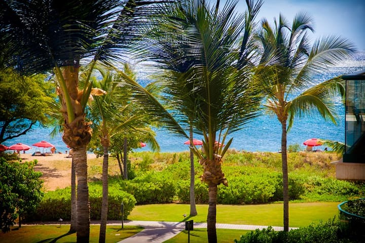 Maui Westside Properties: Hokulani 306 -  2 Bed/2 bath - Hear the Waves! - Kaanapali - Byt