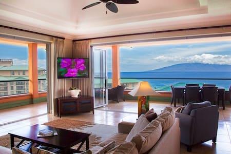 Maui Westside Properties: Konea 1019 - Ocean View 3 bedroom Penthouse with BBQ!