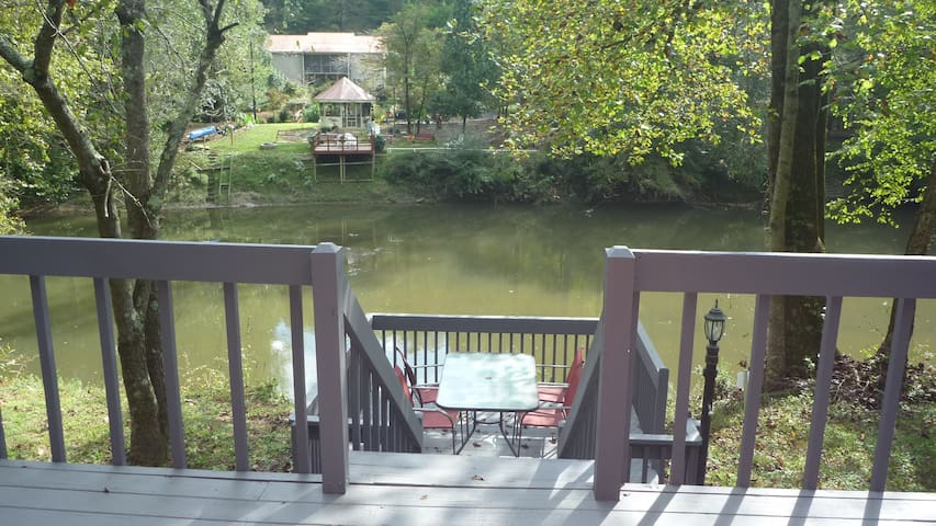 Convenient River Front Home - Ellijay - Huis