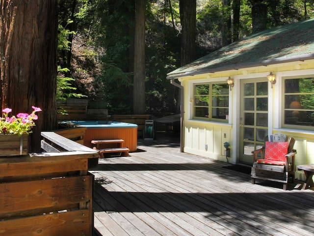 EASY DAYS: Sunny Deck | Hot Tub | Fireplace - Guerneville