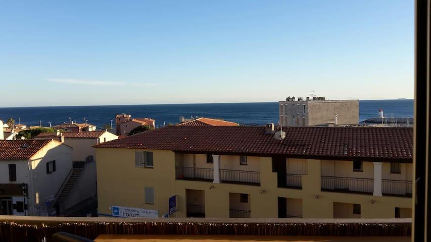 Appart Vue mer à Sausset - Sausset-les-Pins - Apartamento