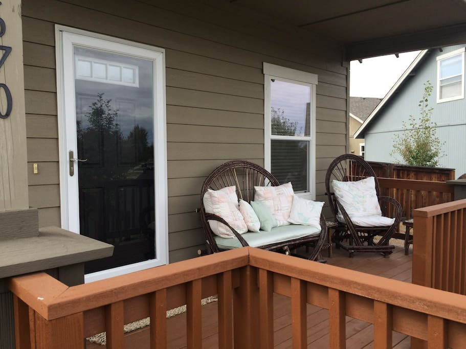 cozy covered porch