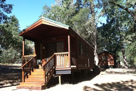 Bass Lake/Yosemite-Cabin Cottage E - Норт-Форк