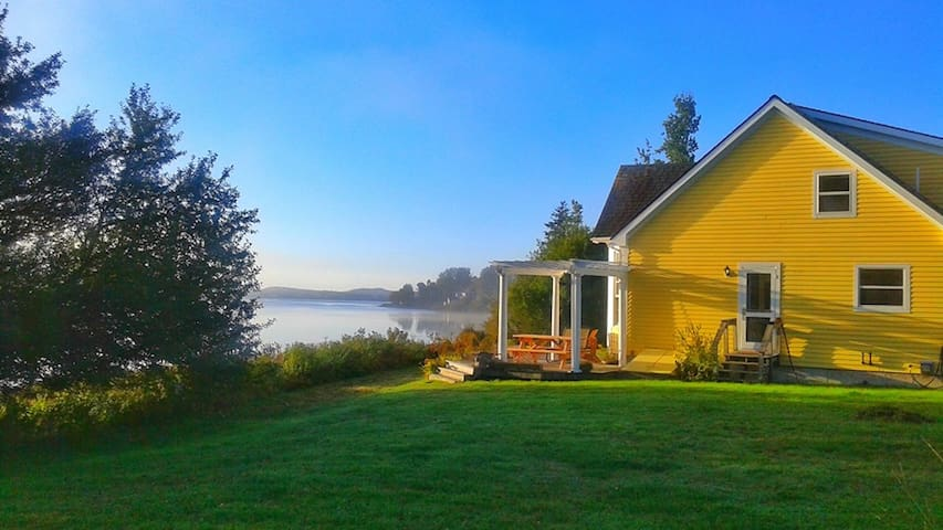 Waterfront & Island Views - Machiasport - House