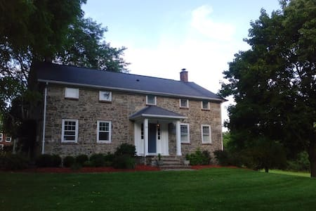 Historic farmhouse on 18 acres - New Hampton