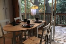 Breakfast with a view to the nature