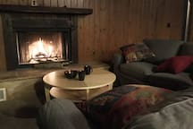 Wonderful comfortable couch for you to get cosy and enjoy evenings with friends