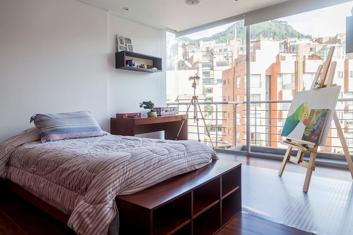 Great view, new, cozy & wifi - Bogota - Appartement