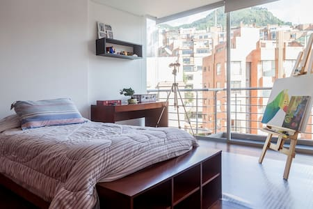 Great view, new, cozy & wifi - Bogotá - Huoneisto
