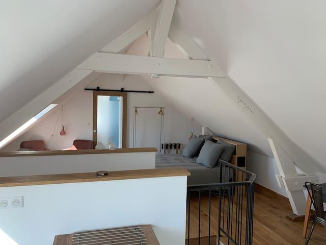 Côté Coteau:  cosy appartement vue vignes