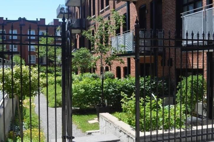 Trendy Condo/Loft 1900 factory - Montréal - Wohnung