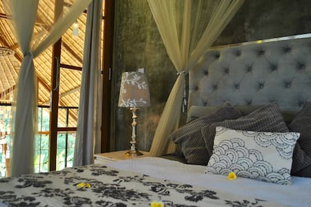 Eco rice paddy retreat-silver room - Ubud - Bed & Breakfast