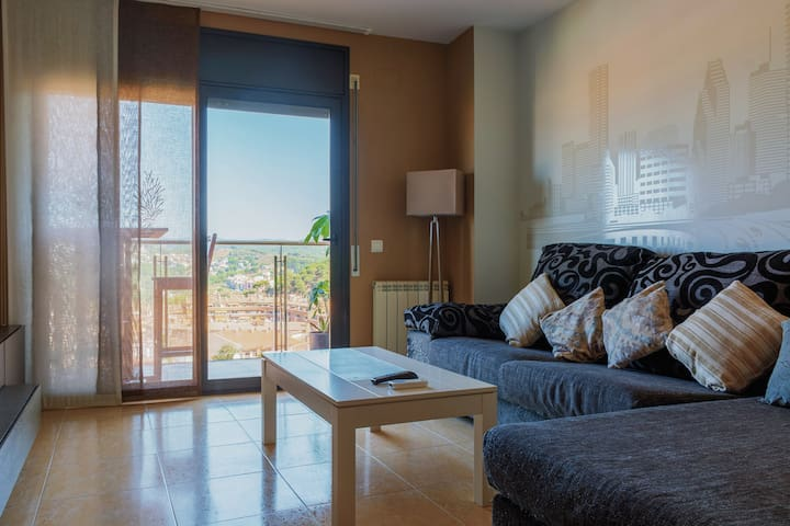 Apartament with great views to Blanes.