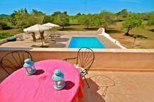 Haus Terrasse mit Ausblick  im-web.de/ Mallorcareise SL
