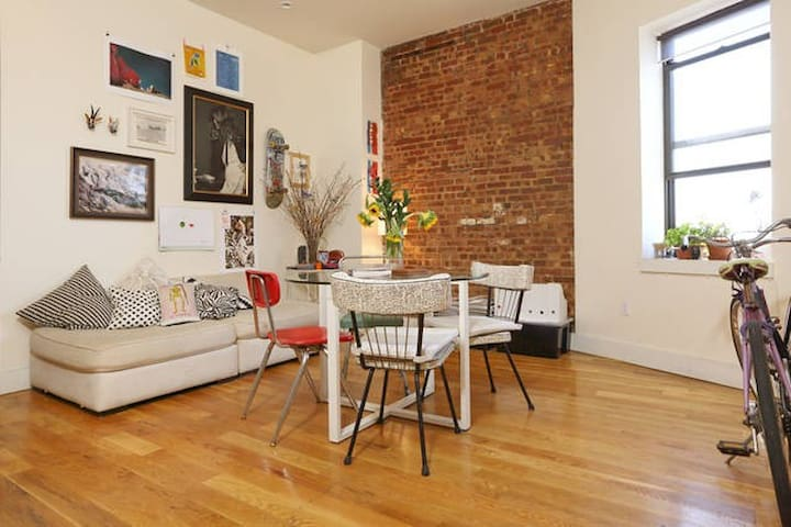 Lovely & Comfy Room in Cool Apt. - Brooklyn - Appartamento