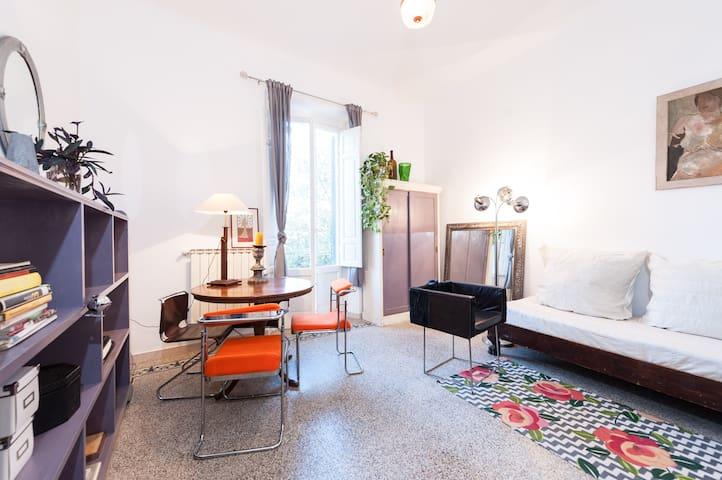 Spacious, 2 bedroom flat near city center