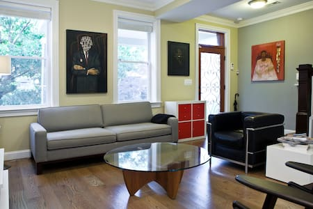 GREAT bedroom in beautiful rowhouse in Petworth/DC - Waszyngton - Dom