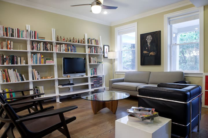 GREAT bedroom in beautiful rowhouse in Petworth/DC