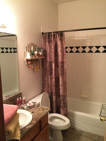 Private full bathroom entirely for your use