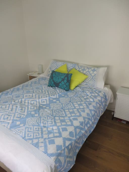 Queen size bed with very high quality  mattress