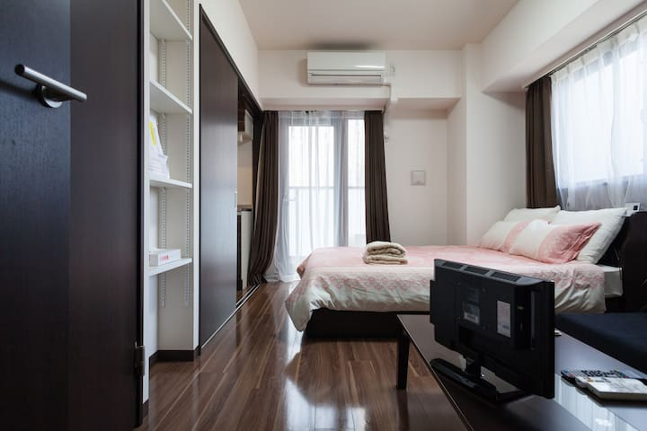 The Central SHIBUYA 7mins+pct wifi - Shibuya - Wohnung