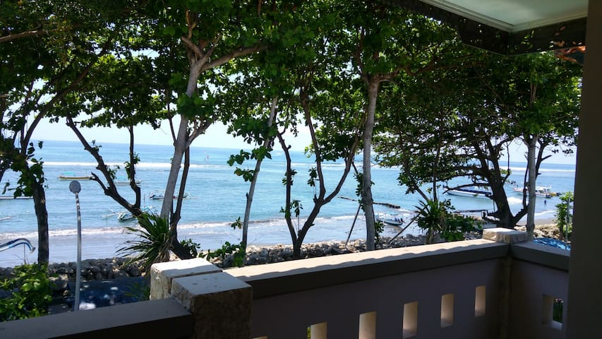 Peaceful Ocean View Apartment - Sanur - Apartament