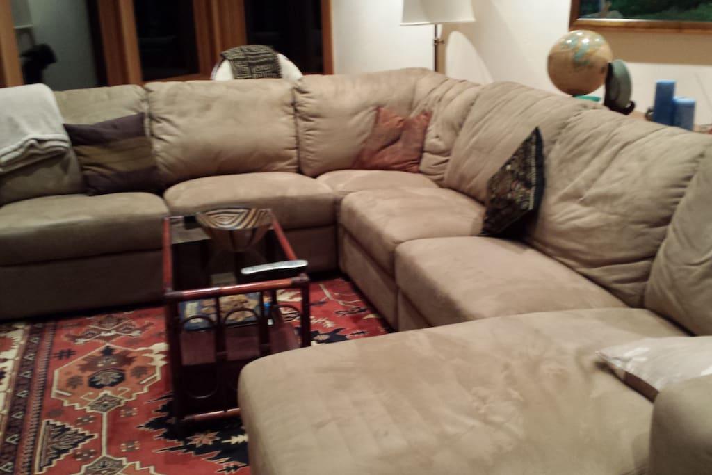 Plenty of comfy seating